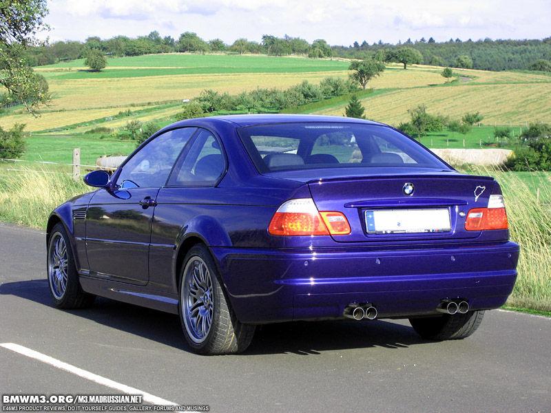 E46 M3 Velvet Blue E46fanatics